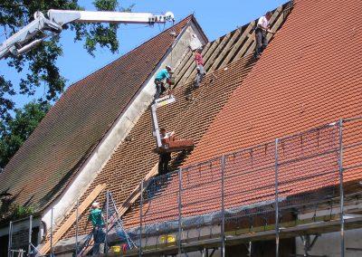 Scheunen Dach